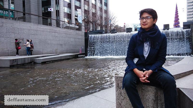 5 hari di Seoul - Cheong Gye Cheon Fountain 2