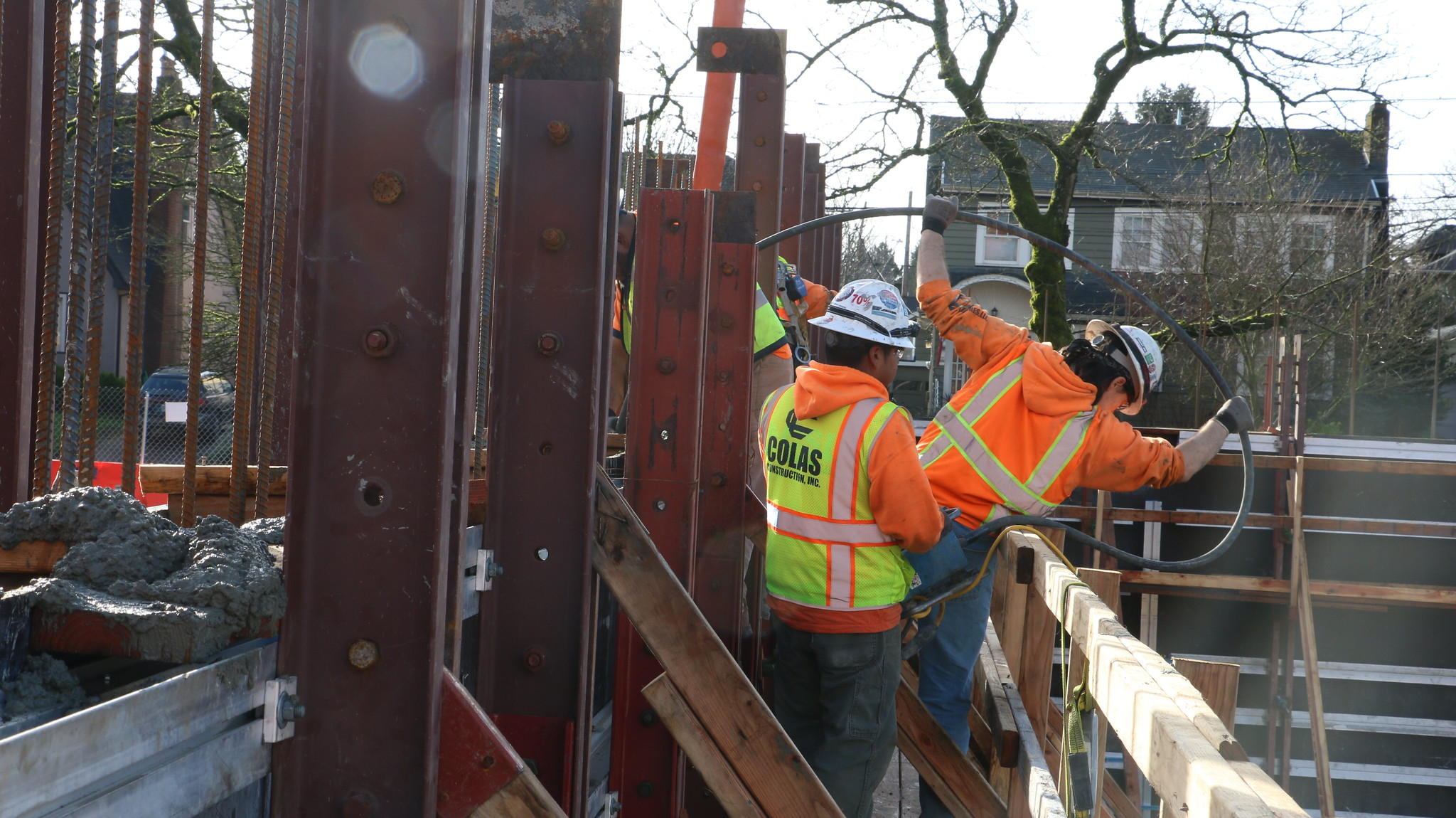 Grant concrete pour 1-30-18