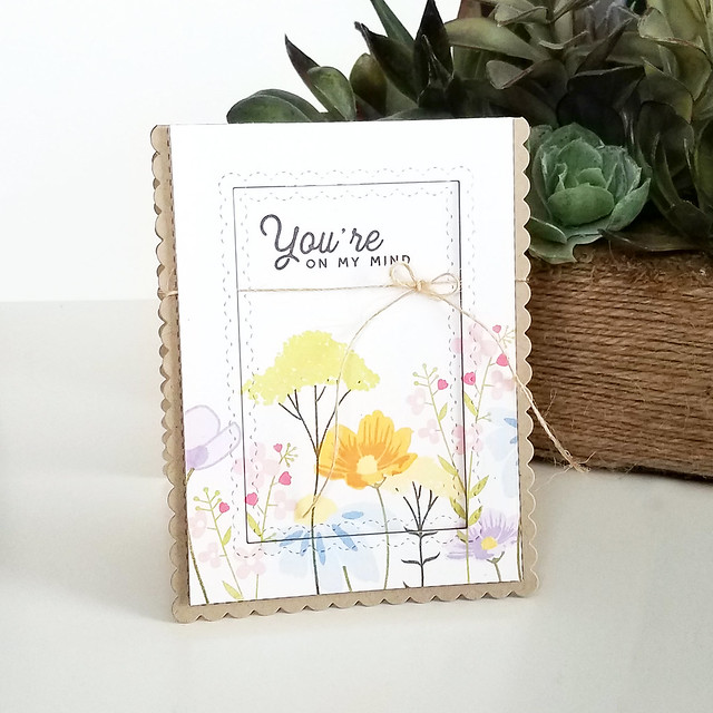 Mixed Bouquet On My Mind Card