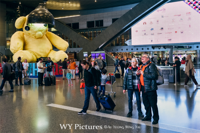 2018 Doha: Travellers In The Hamad International Airport
