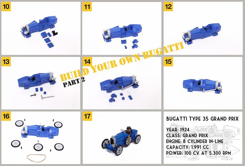 LEGO Bugatti | part 2