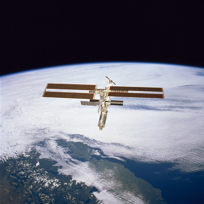 International Space Station - February 2001
