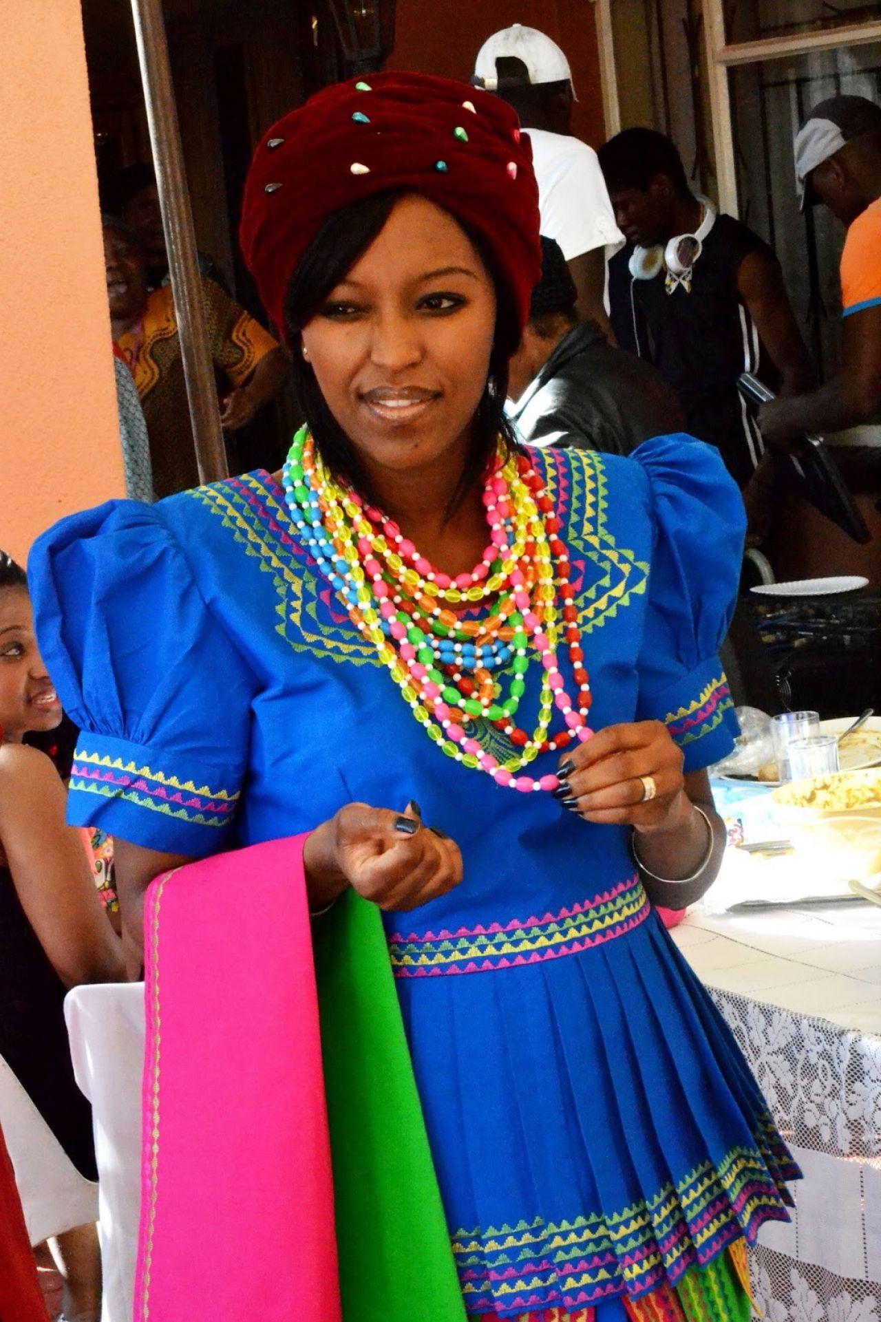 20 Photos Exclusive Sepedi Traditional Wedding Dress