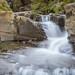 Kleiner Wasserfall am Kommetsteiner Bach