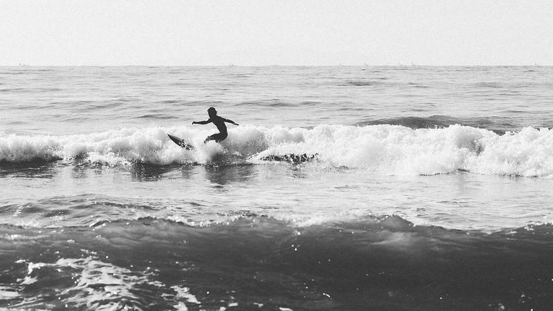 鎌倉海岸|衝浪Boy