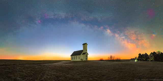 Star Dust At Dawn