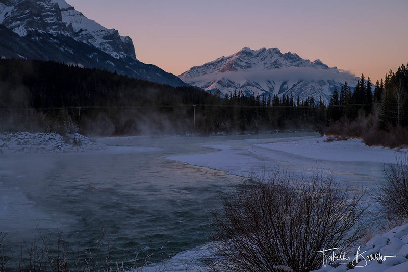 Cascade and bow river