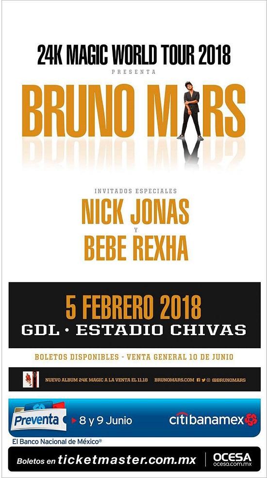Bruno Mars / Estadio Chivas