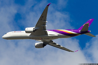 Thai Airways International Airbus A350-941 cn 189 F-WZFD // HS-THM