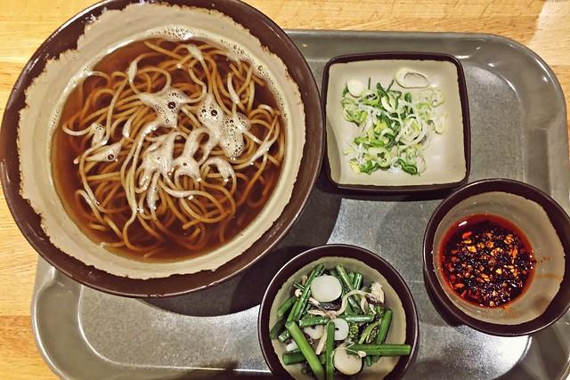 Soba Noodles in Tokyo Skytree Solamachi Tabe-Terrace (VEGAN)