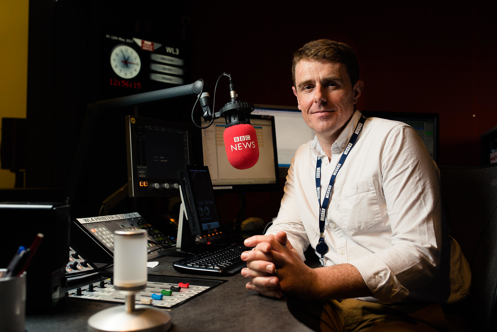 Anthony Birchley, BBC Radio Presenter