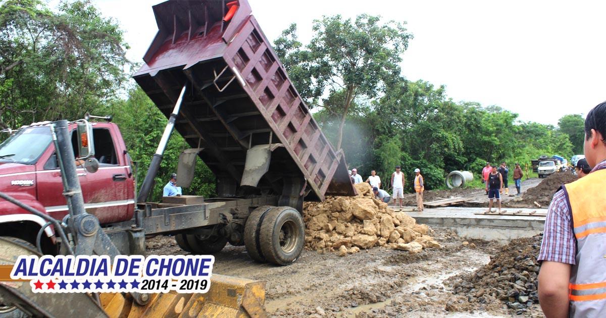 Alcaldía evaluó daños ocasionados por lluvias