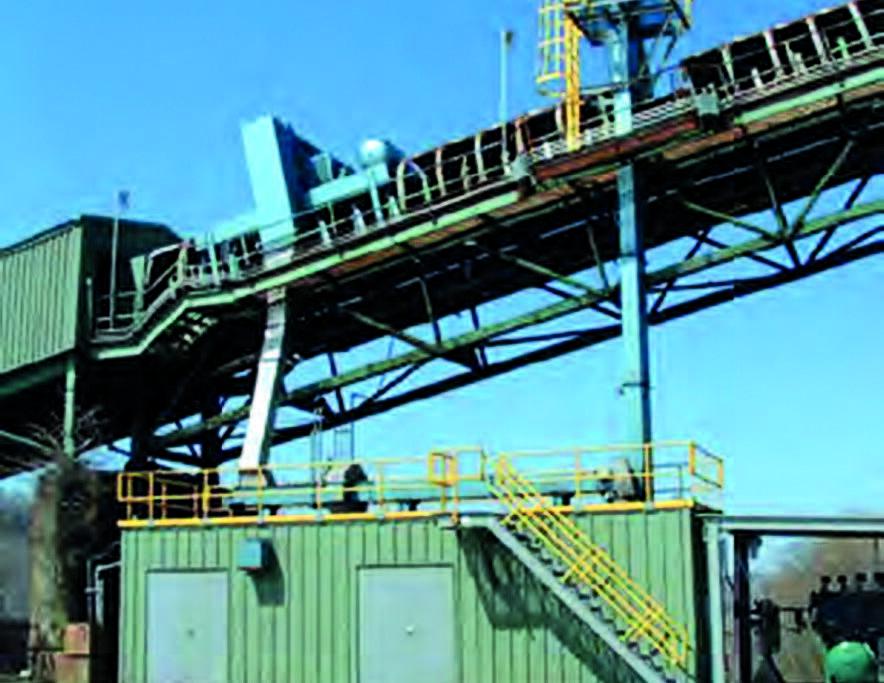 Система отбора и подготовки проб дробленой руды
