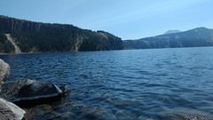 In the bowl of Crater Lake