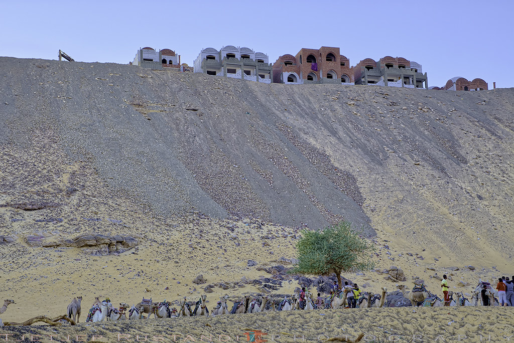 Huge hill gap