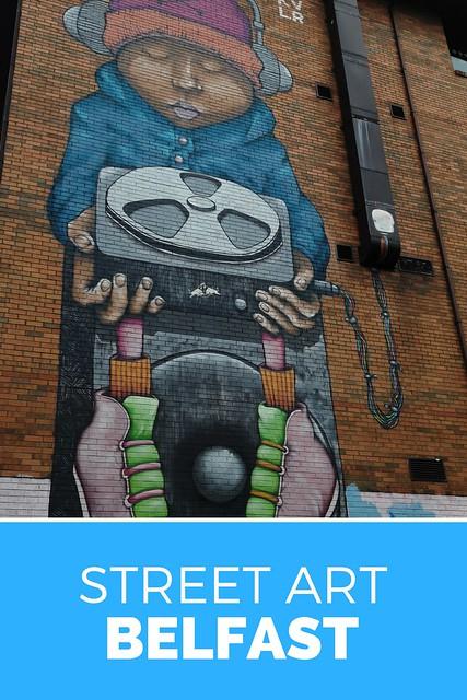 De beste street art in Belfast, bekijk de tips | Mooistestedentrips.nl
