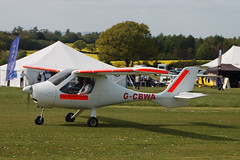 G-CBWA Flight Design CT2K [02-06-01-04] Popham 020509
