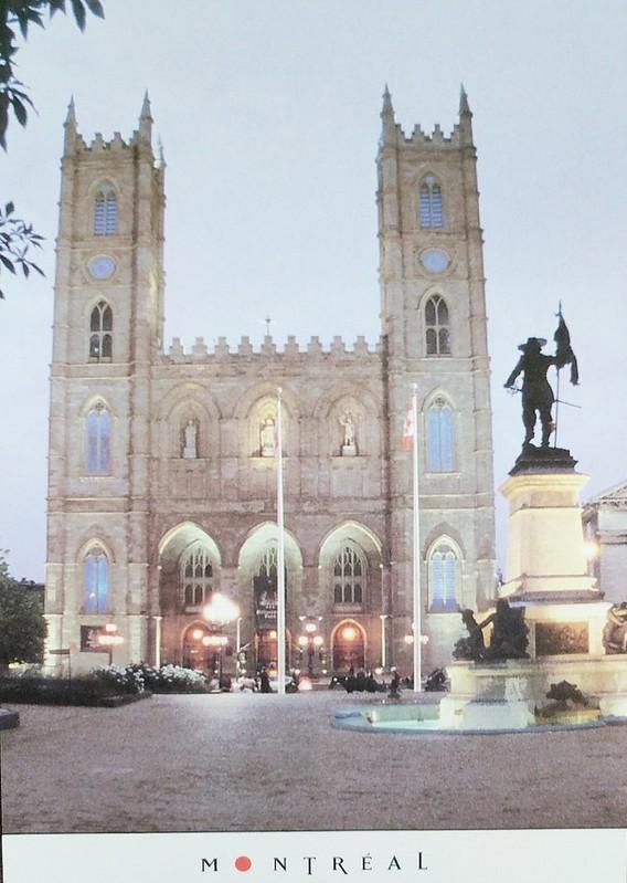 Canada - Quebec - Montreal - Place D'Armes avec Basilique Notre-Dame - Ruxandra