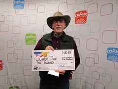 Charlie Duke - $2,000 - Pick 3 - Boise - Albertsons