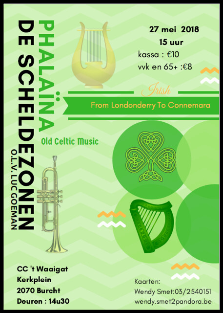 Phalaïna concert Celtic Music 't Waaigat Burcht 27mei2018