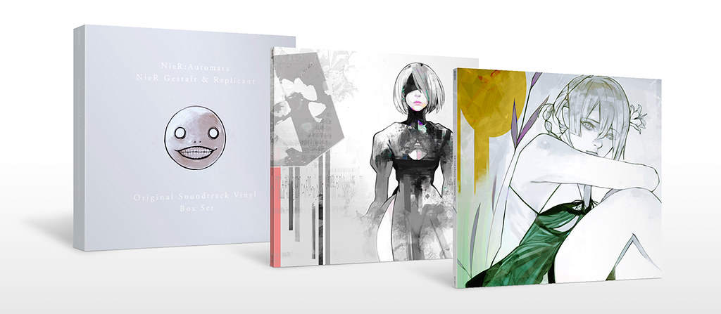 Nier Gestalt & Replicant and Automata Vinyl Box Set