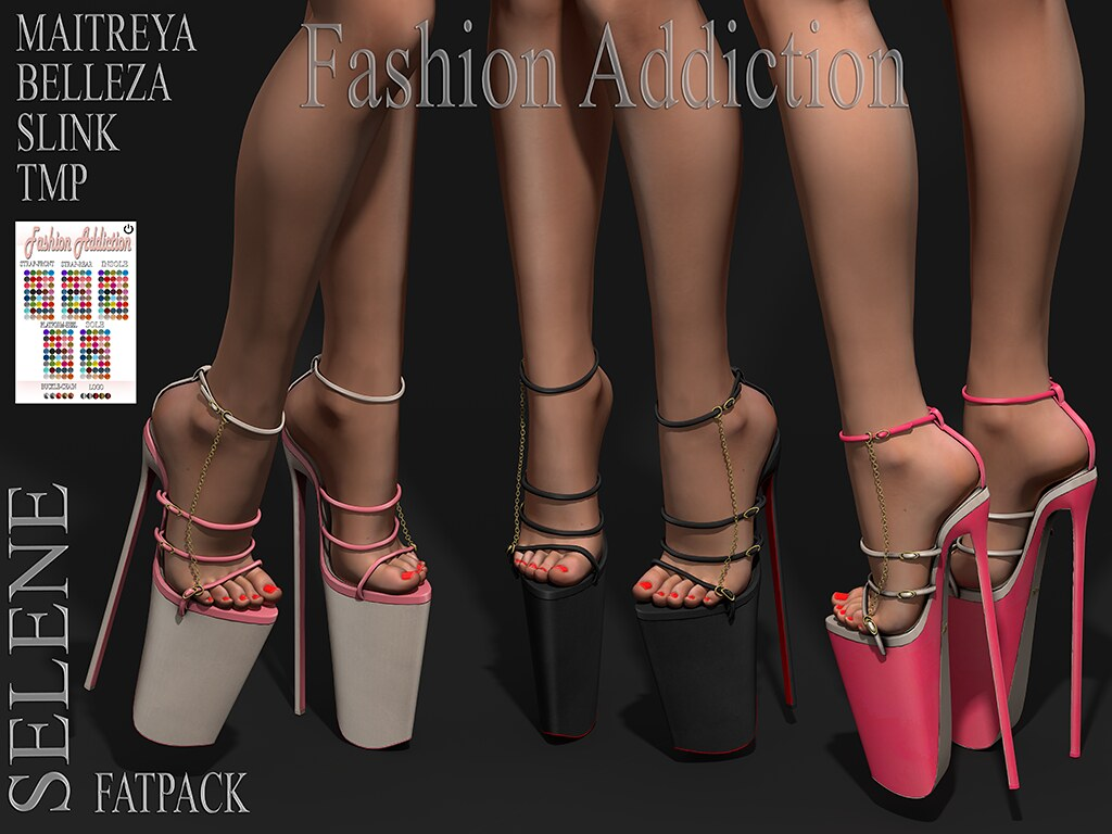 SELENE SHOES @ .Suicide DollZ.