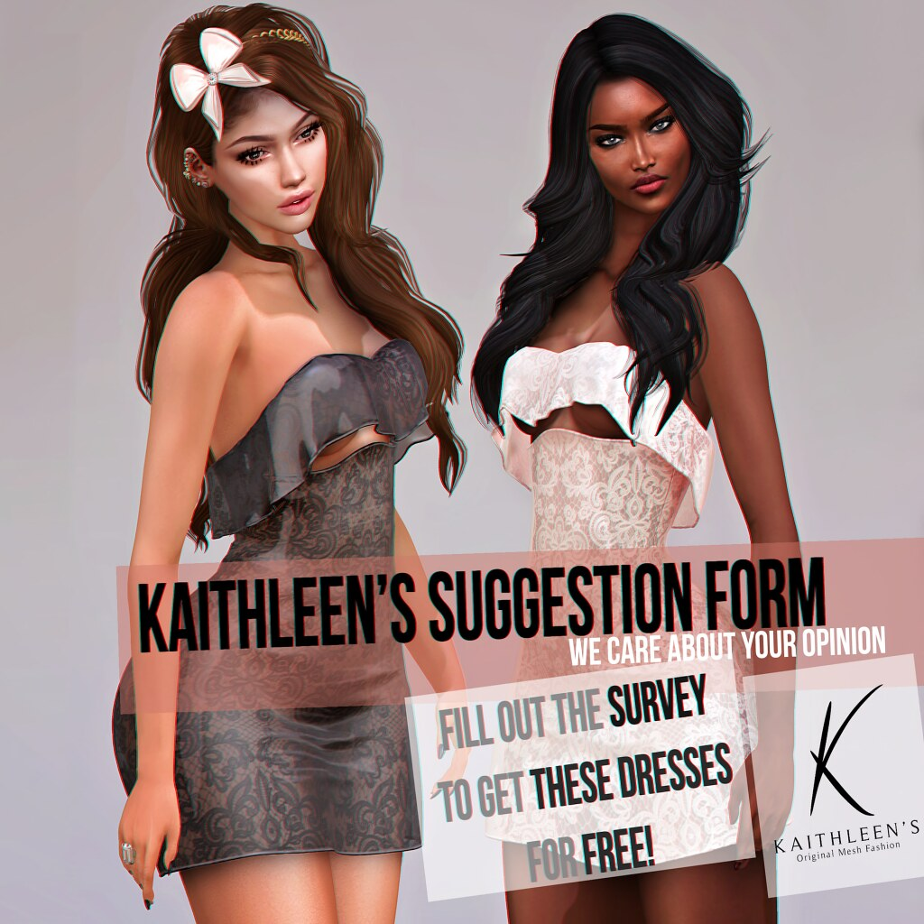Kaithleen's Survey - Fill out and get 2 dresses for FREE