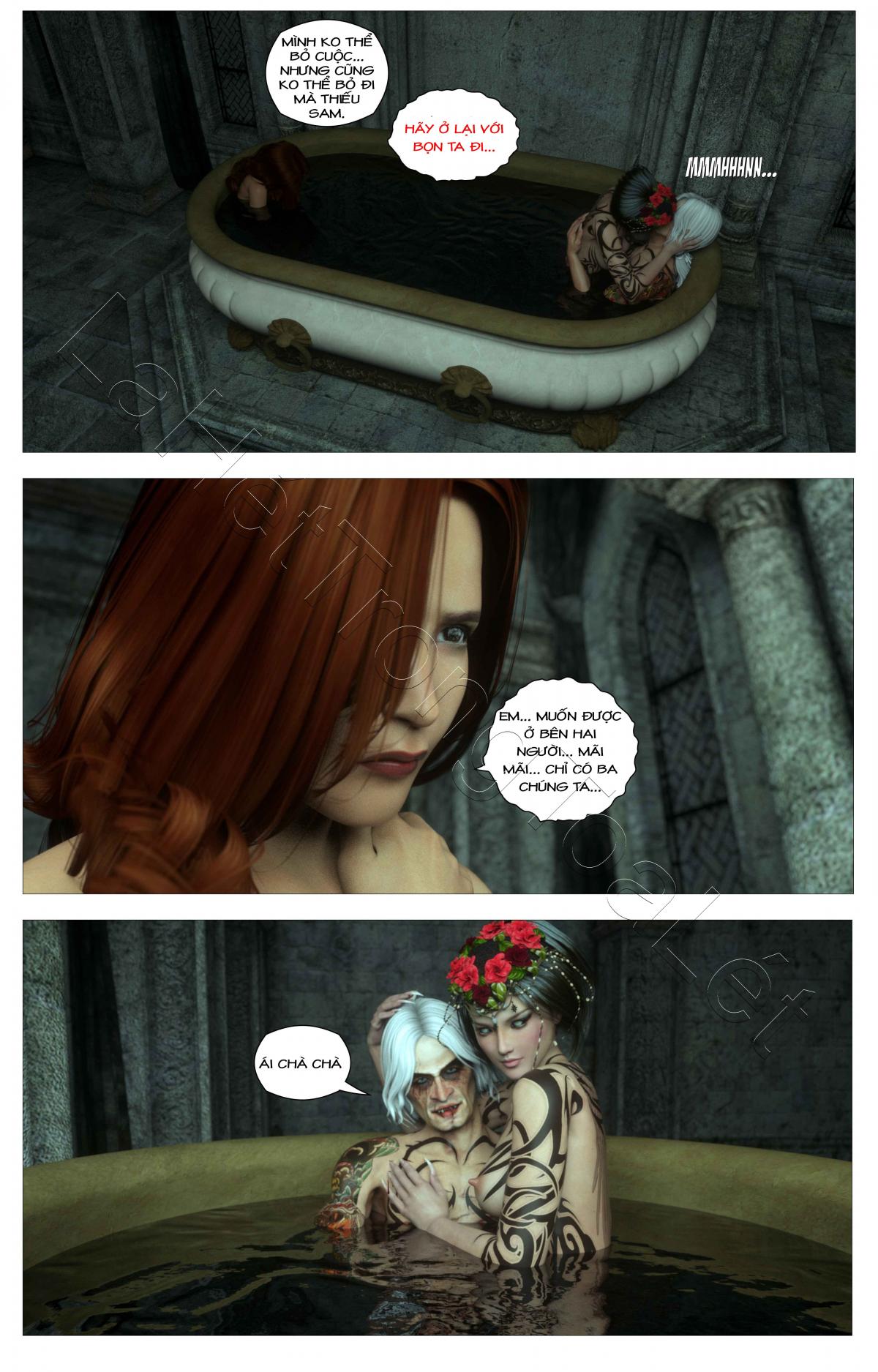 HentaiVN.net - Ảnh 7 - Tòa lâu đài bí ẩn: lời nguyền của Caritagua - Crypt Raider: Curse of Caritagua, Crypt Raider - Tập 5