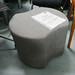 Mixed fabric waiting room chair E50