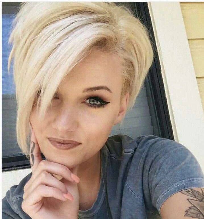 Tango Colored Short Pixie Hairstyle For 2018 Right Now
