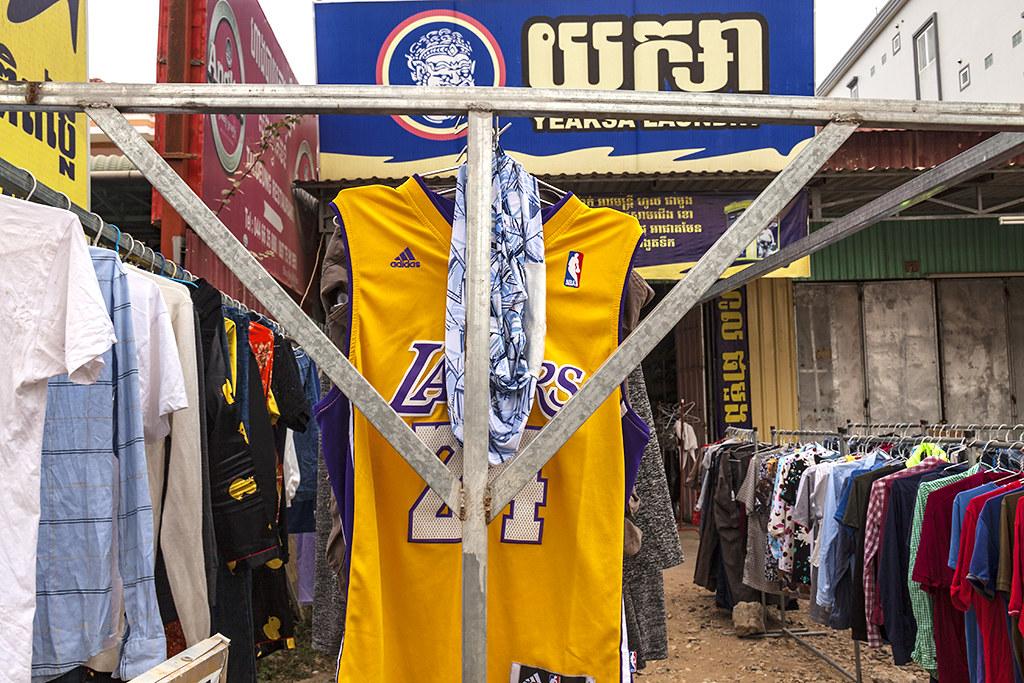 Kobe's jersey--Bavet