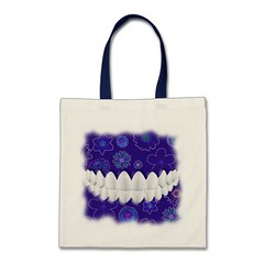 bag of blue teeth