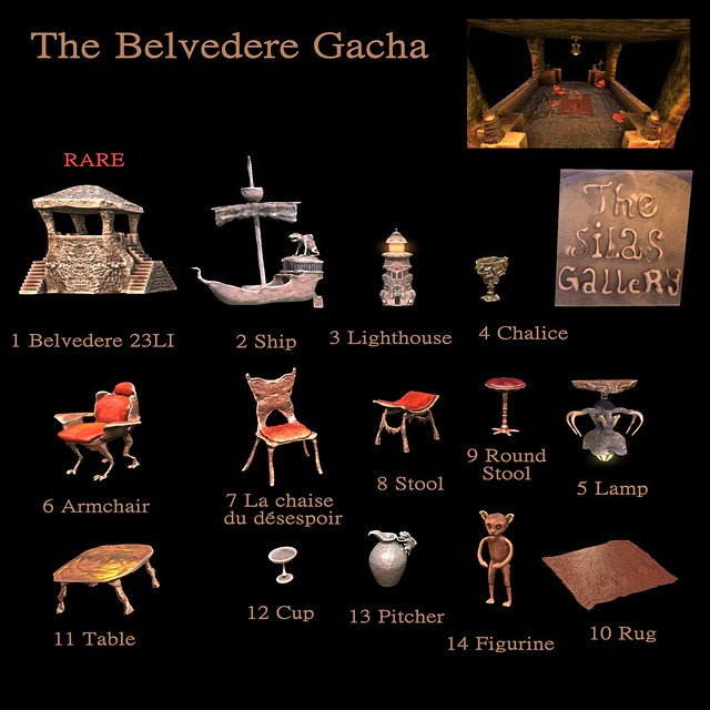 Belvedere Gacha Key