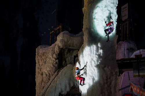 2018 UIAA Ice Climbing World Cup Rabenstein