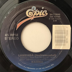 KAOMA:LAMBADA(LABEL SIDE-B)