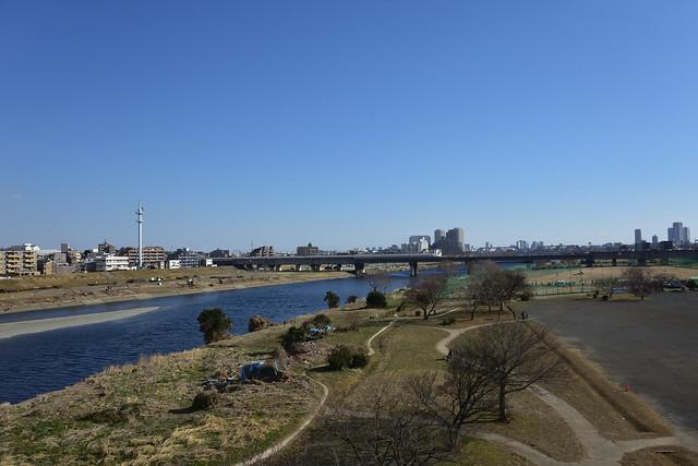 二子橋からの眺め