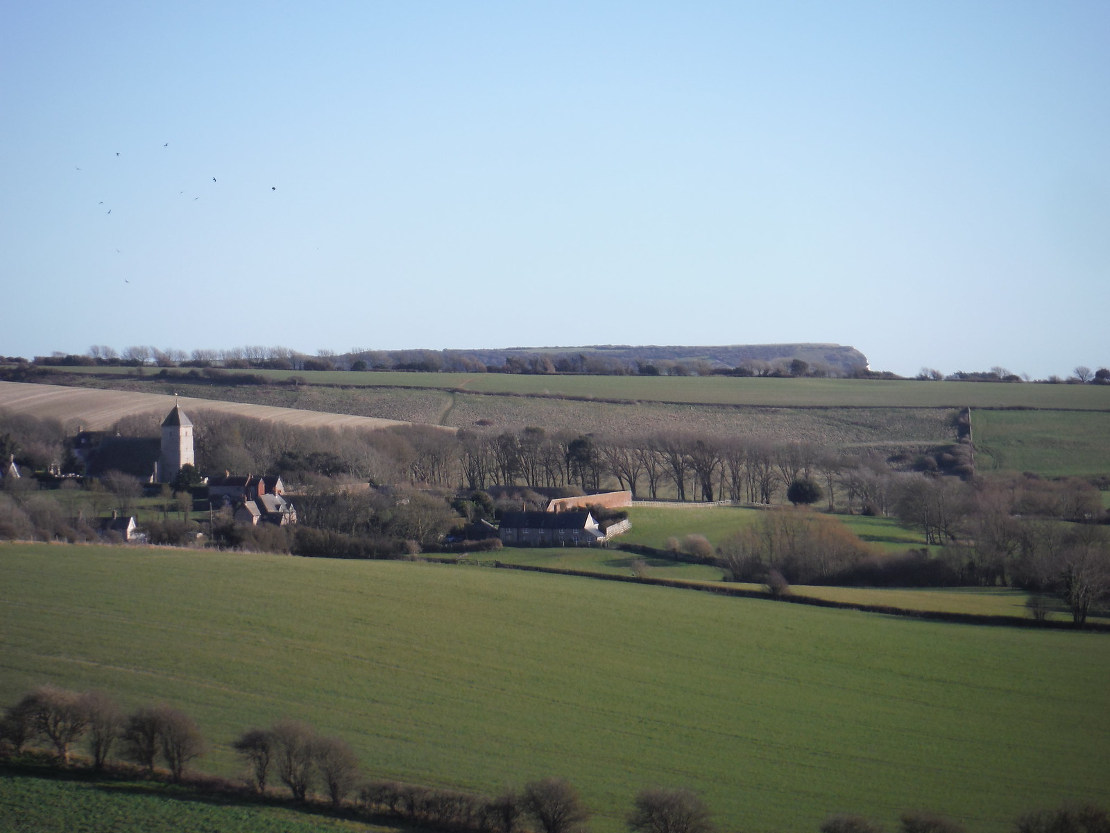 Bishopstone (with a Sister lurking behind in the distance) SWC Walk 181 - Lewes to Seaford via West Firle
