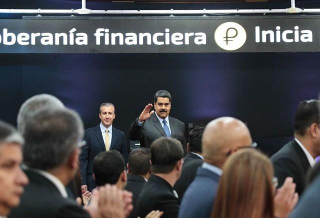 Venezuela lança moeda virtual com tecnologia russa