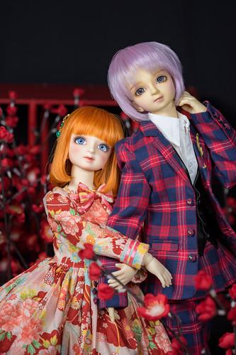 Tsukasa and Komachi