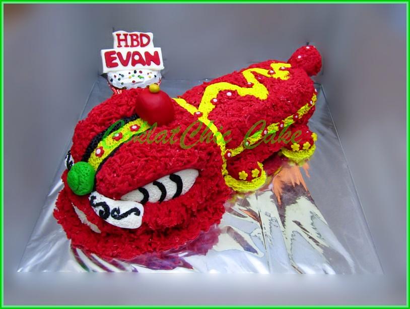 Cake Barongsai EVAN 15 cm