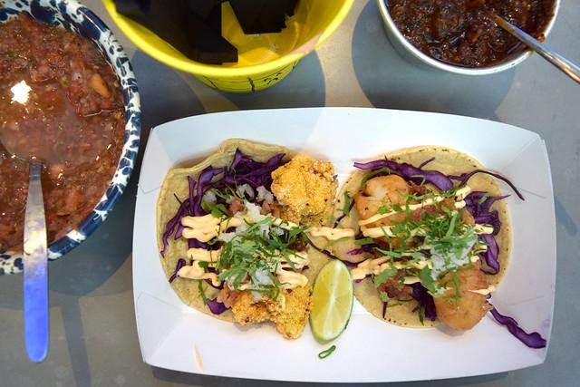 Breddos Tacos at The Kitchen at Old Spitalfields Market #tacos #breddostacos #streetfood #london #spitalfields