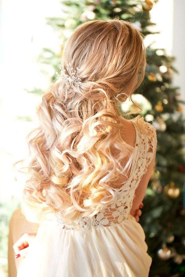 +10 Best Half Up Half Down Wedding Hairstyle Ideas 1