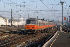 AM 844 (IC 810, Schaerbeek - Saint-Ghislain), Bruxelles-Midi, 1st February 1992