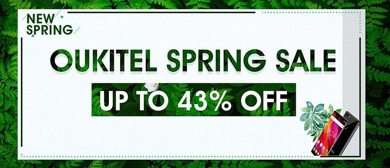 TOMTOP OUKITEL Spring Sale (1)