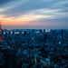 Tokyo  - Dawn in blue and red by Giant Noggin