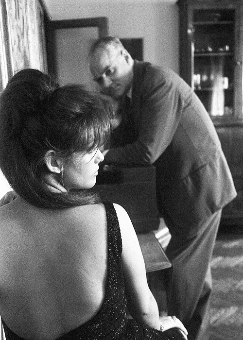 Vaghe Stelle dell'Orsa… - backstage 2 - Claudia Cardinale abd Luchino Visconti