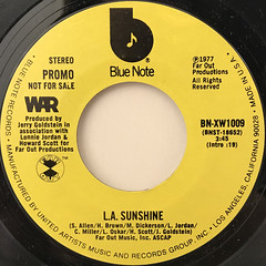 WAR:L.A. SUNSHINE(LABEL SIDE-A)