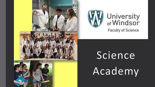 UWindsor Science Academy 2017