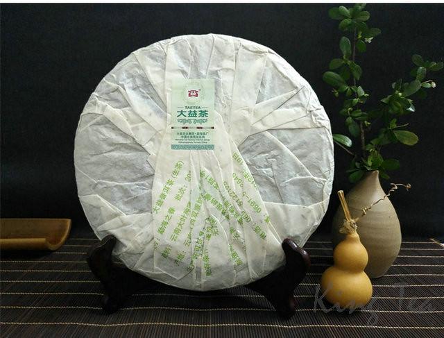 2012 DaYi TAETEA  Menghai's Spring  Cake 357g   YunNan MengHai  Puerh Raw Tea Sheng Cha