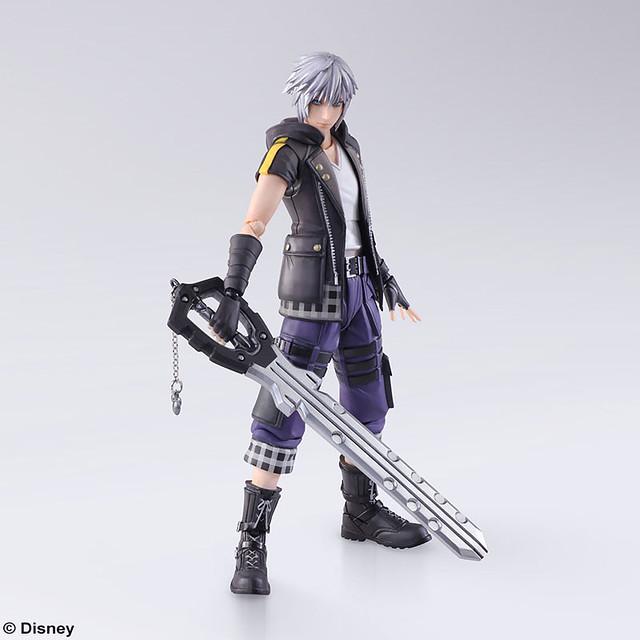 我要選擇通往黎明的道路!BRING ARTS《王國之心3(Kingdom Hearts III)》里克 可動人偶  ブリングアーツ リク アクションフィギュア